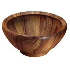 "Acacia Wood Salad Bowl, 16"" x 8"""