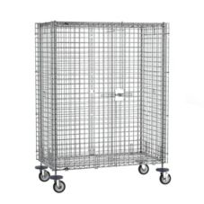 "Metro® SEC33EC Super Erecta® Mobile 38""L Chrome Security Unit"