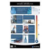 San Jamar® RCUWLCT Rapi-Kool® Wall Chart
