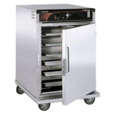 CresCor H-137-SUA-6D Half Size Insulated Mobile Cabinet w/ Top Heater