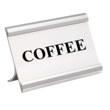 Action Industries 265-COFFEE 3.5 x 2 Coffee Break Metal Sign