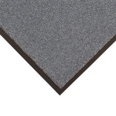 NoTrax 434-328 Gunmetal Gray 4' x 6' Atlantic Olefin® Floor Mat