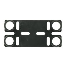 NoTrax® Black Tek Tough Jr® Mat Connector