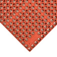 "Apex™ 290-981 Red 39 x 19-1/2"" San-Eze II® Floor Mat"