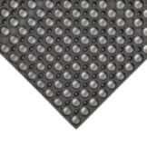 NoTrax® 435-719 Black 3' x 3' Tek-Tough® Floor Mat