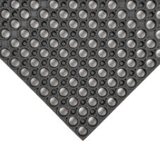 Apex™ 435-719 Black 3' x 3' Tek-Tough® Floor Mat