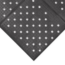 NoTrax® 410-941 Black Rubber 3' x 4' Multi Mat II® Floor Mat