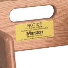 Tomlinson® 1916745 Caution Label for High Chairs