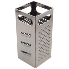 Browne Foodservice SSG449 Stainless Steel Square Cheese Grater