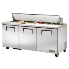 True TSSU-72-18 2-Door 18-Pan 19 Cu Ft S/S Sandwich & Salad Unit