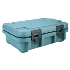 "Cambro UPC140401 Slate Blue 4"" Deep Food Pan Ultra Food Pan Carrier"
