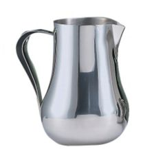 World® Tableware CT-558 Belle S/S 70 oz Pitcher with Ice Guard