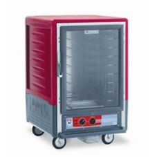 Metro® C535-HLFC-4 Red Heated Cabinet w/ Insulation Armour™