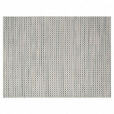 "Front Of The House® Silver 16"" x 12"" Basketweave Mat"