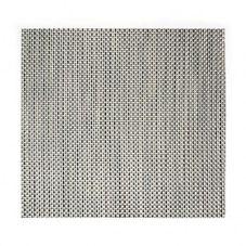 FOH® XPM042SIV83 Metroweave® Silver Basketweave Placemat