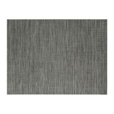 "Front Of The House® Black 16"" x 12"" Tweed Placemat"