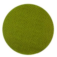 Front Of The House® Green / Brown Round Reversible Mat