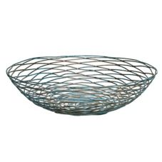 Front Of The House BBK007PTI22 Patina Wireware Round Bowl - 6 / CS