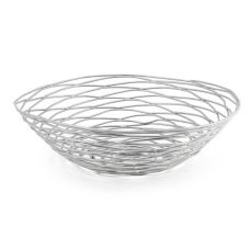 "Front Of The House® BBK007BCI22 10"" Wireware Basket - 6 / CS"