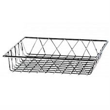 "Buffet Euro WB104C 11"" Chrome Square Wire Basket"