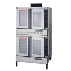 Blodgett Roll-in Dual Flow Gas Dbl Convection Oven w/ 2 Base Sections