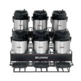 BUNN® 35728.0005 Universal Airpot Rack for 6 Airpots