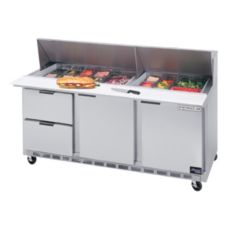 Beverage-Air SPED72-30M-2 Elite Refrigerated Counter with 2 Drawers