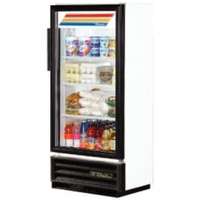True® Super Slim Line Refrigerated Merchandiser, 6.7 Cubic Ft
