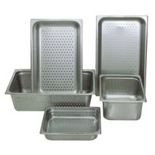 "Update NJP-1004PF Full-Size 4"" Deep Perforated Steam Table Pan"