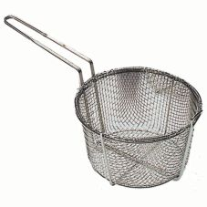 "Update International FB-9 9.5"" Round Wire Fry Basket"