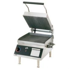 "Star® CG14I-208V Pro-Max® 14"" Grooved Iron Panini Grill"