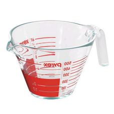 World Kitchen 6001075 Pyrex® Clear 2 C Measuring Cup