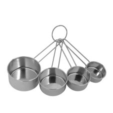 Ekco® 1094604 S/S 4-Piece Measure Cup Set