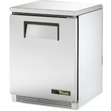 True® TUC-24 S/S 5.2 Cu Ft 2-Shelf Undercounter Refrigerator