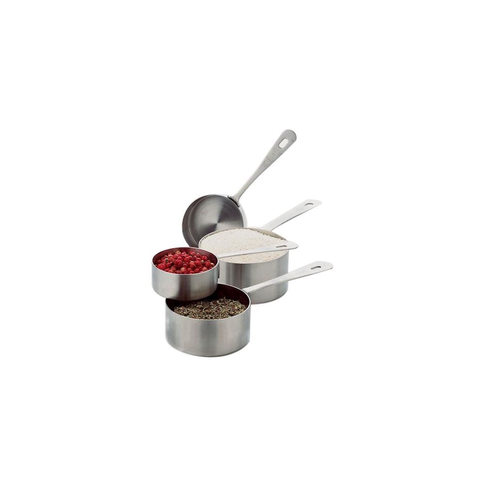Focus Foodservice 864 Heavy Duty S/S Measure 4 Piece Cup Set - 1 / ST at Sears.com