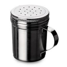 "Focus Foodservice 861 S/S 2-7/8"" x 3-1/2"" Large Hole Shaker"