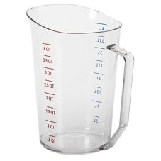 Cambro® 400MCCW135 Clear Camwear® 4 Qt Measuring Cup