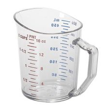 Cambro® 50MCCW135 Clear Camwear® 1 pt Measuring Cup