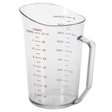 Cambro® 200MCCW135 Clear Camwear® 2 Qt Measuring Cup