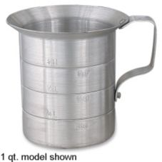 Browne Foodservice ML40 4 Qt. Aluminum Liquid Measuring Cup