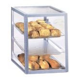 Cal-Mil 268 Clear 3-Shelf Acrylic Attendant-Serve Display Case