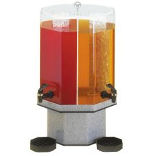 Cal-Mil 971-5-16 Grey Granite Dual Chamber 5 Gal Beverage Dispenser