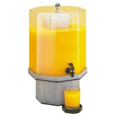 "Cal-Mil® 22"" x 13"" 5 Gallon Octagon Beverage Dispenser"