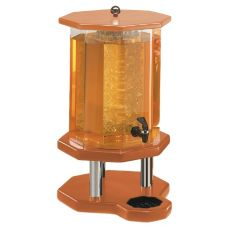 Cal-Mil 972-3-53 Woodland 3 Gal. Beverage Dispenser w/ Wood Base