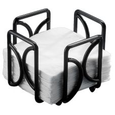 "Cal-Mil® 1243 Black 5"" Napkin Holder"