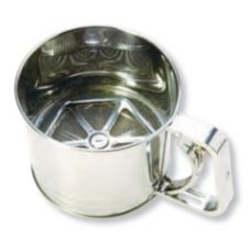 Stanton Trading 1032 Stainless Steel 5-Cup Flour Sifter