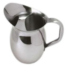 American Metalcraft BPG67 S/S 68 Oz Bell Pitcher with Ice Guard