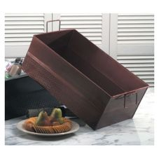 American Metalcraft Hammered Copper Full-Size Beverage Tub