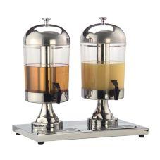 American Metalcraft JUICE2 Double Container 17 Qt Juice Dispenser