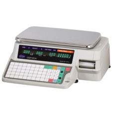 Globe Food GSP30A Legal for Trade 30 lb Capacity Label Printing Scale